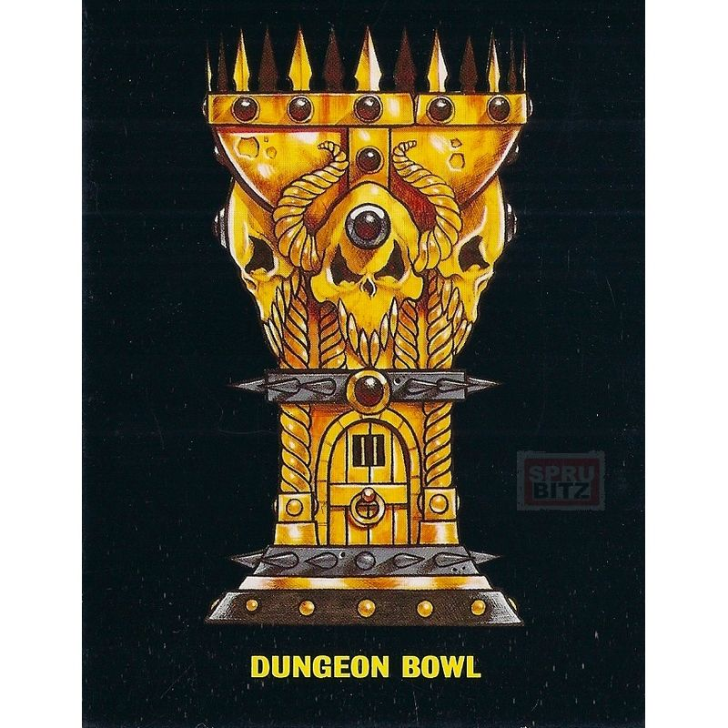 Blood Bowl Deathzone Dungeon Bowl Cup Trophy Card