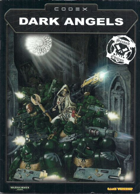 Dark Angels Codex rulebook 2002 2nd edition