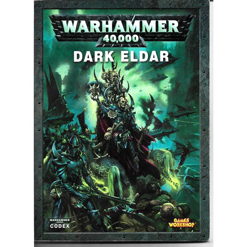 Dark Eldar Codex Rulebook 2010