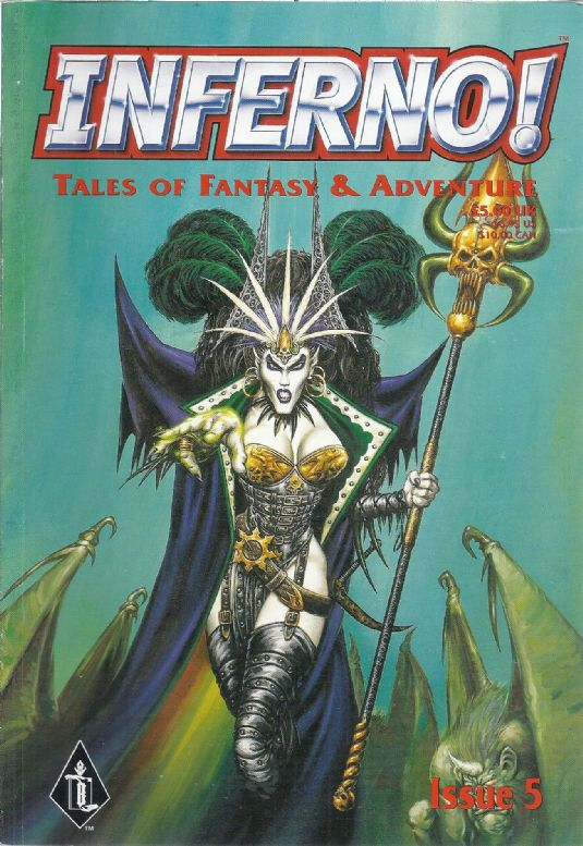 Inferno! Tales of Fantasy & Adventure Issue #5 Games Workshop Comic Magazine