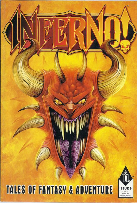 Inferno! Tales of Fantasy & Adventure Issue #9 Games Workshop Comic Magazine