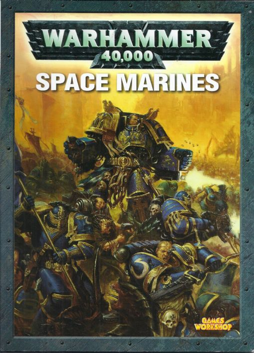 Space Marines Codex rulebook (2004)
